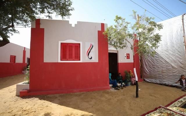 إعادة إعمار عدد من النزل بالقري الفقيرة