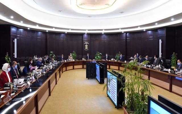 خلال اجتماع سابق لمجلس الوزراء المصري بمقره الجديد في العلمين