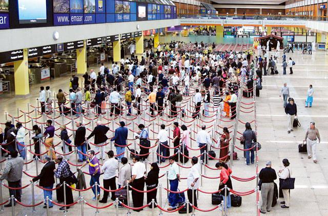 Indians top Dubai airport visitors; Saudis rank second