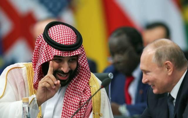 الأمير محمد بن سلمان والرئيس الروسي في قمة مجموعة العشرين ـ أرشيفية