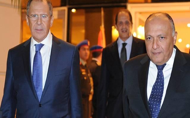 وزير الخارجية الروسي في زيارة سابقة إلى مصر