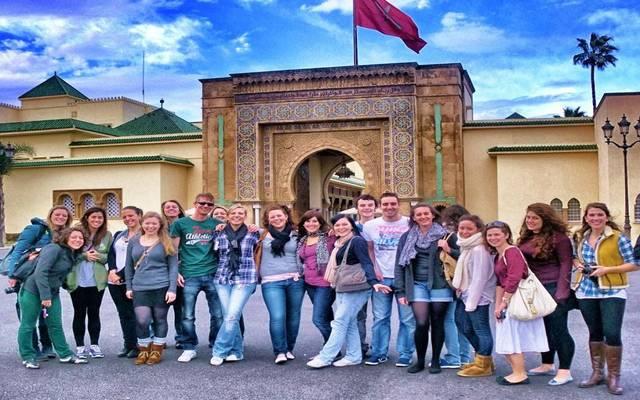 سياح أجانب في المغرب