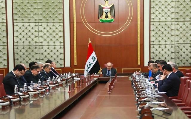 جلسة مجلس الوزراء العراقي