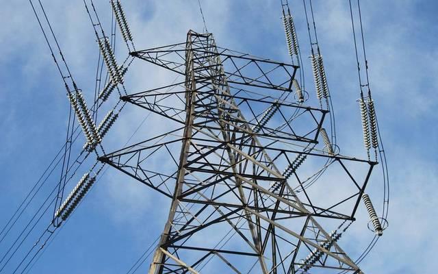 برج لتوصيل التيار الكهربائي