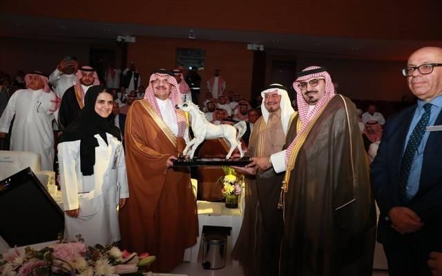 خلال افتتاح المستشفى السعودي الألماني بمدينة الدمام بحضور أمير المنطقة الشرقية