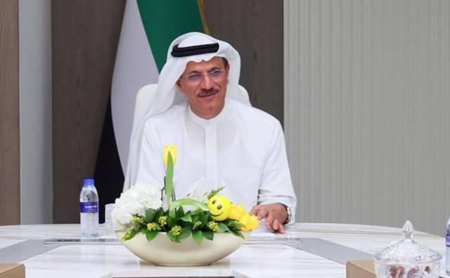 وزير الاقتصاد الإماراتي - سلطان بن سعيد المنصوري