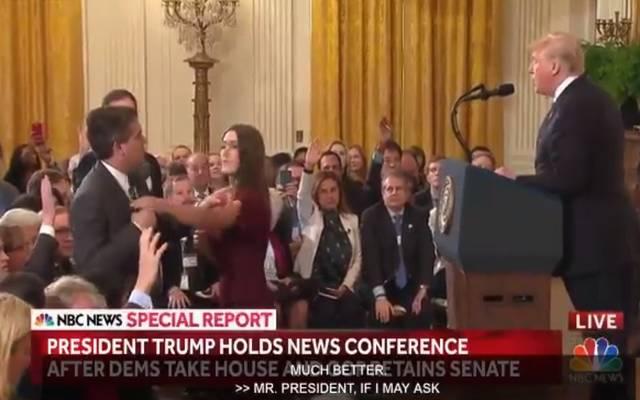 """بعد مشادات مع ترامب.. منع مراسل""""سي.إن.إن"""" من دخول البيت الأبيض"""