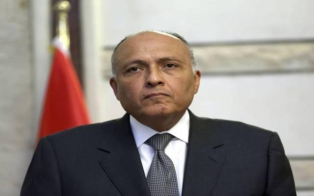 وزير الخارجية المصري سامح شكري - أرشيفية