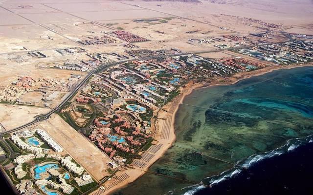 إحدى المدن السياحية في مصر
