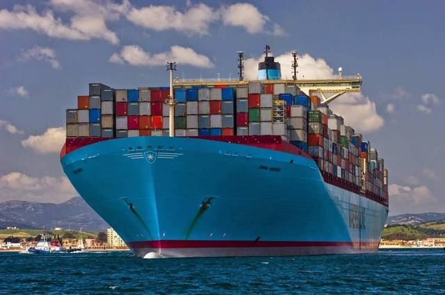 سفينة نقل بضائع- أرشيفية