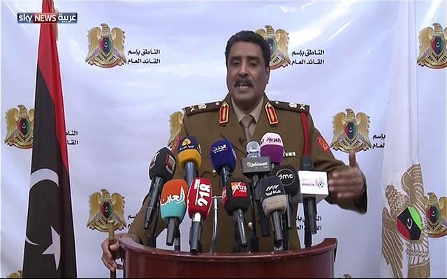 المتحدث باسم القيادة العامة للجيش الوطني الليبي، اللواء أحمد المسماري