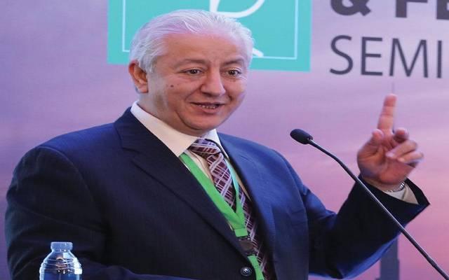 الصعوب خلال مشاركته في المؤتمر العام للاتحاد في القاهرة خلال 2019