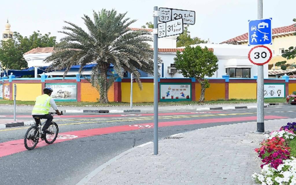 """طرق دبي تُنجز أولى مراحل خطة التنقل """"بلا مُحركات""""..مارس 2020"""