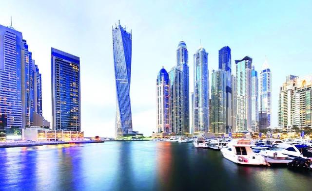 برج كيان.. مقره دبي وتملكه شركة سعودية.. ويعد أكبر برج لولبي في العالم