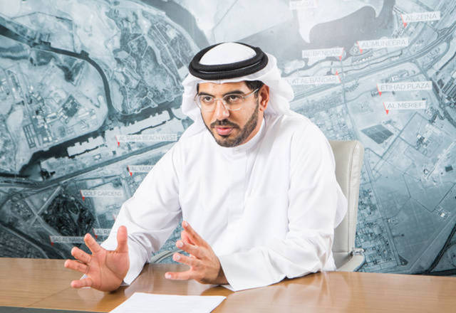 CEO of Aldar Properties, Talal Al Dhiyebi.