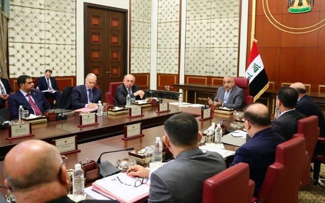 اجتماع مجلس الوزراء العراقي