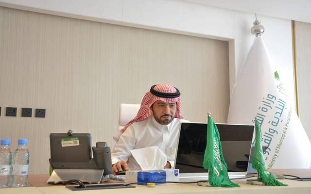 ماجد بن عبدالله الحقيل وزير الشؤون البلدية والقروية المكلف في السعودية