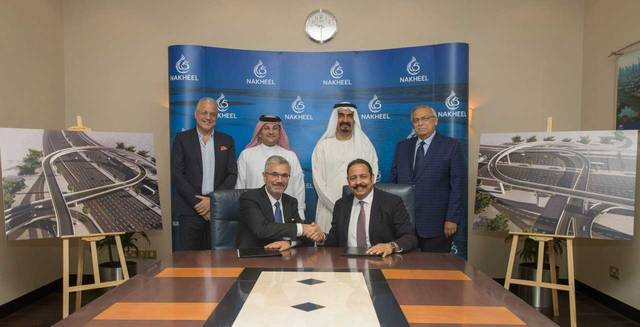 Nakheel has appointed Wade Adams Contracting LLC to build the access routes