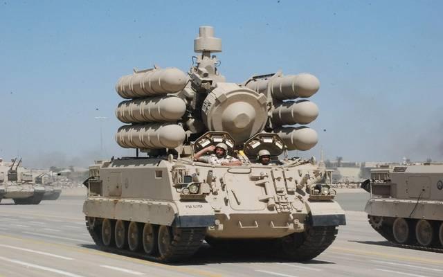 معدات عسكرية تابعة للقوات المسلحة السعودية