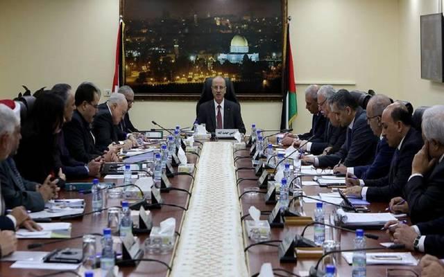 اجتماع سابق لمجلس الوزراء الفلسطيني برئاسة رامي الحمد لله