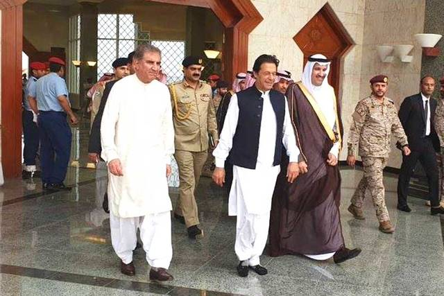 Pakistan's Prime Minister Imran Khan made a proposal to Saudi Arabia to join CPEC