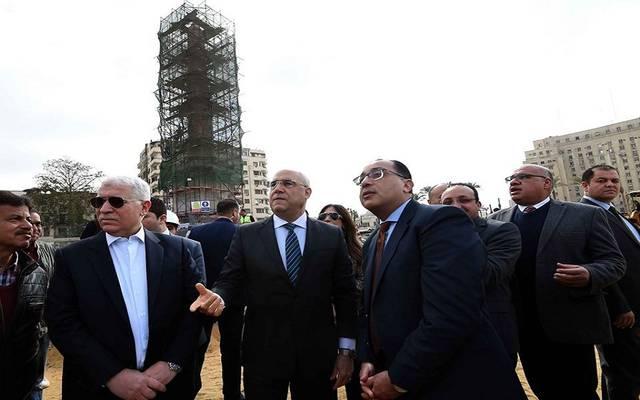 وزير: انجاز 90% من أعمال تطوير ميدان التحرير حتى الآن