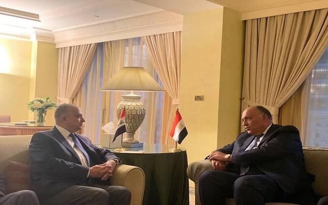 لقاء وزيري خارجية مصر والعراق في بيروت اليوم السبت