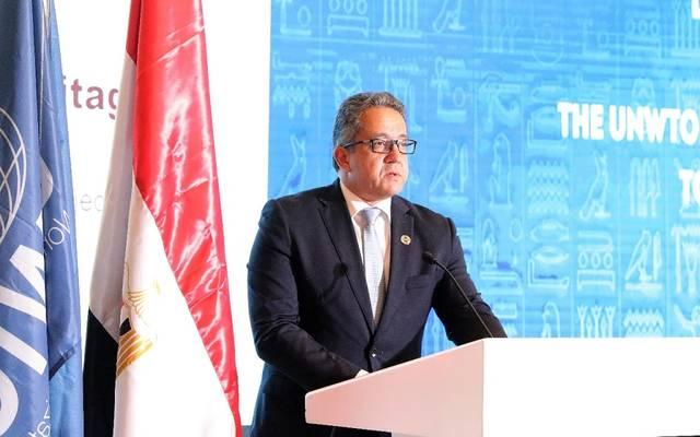 وزير الآثار خالد العناني