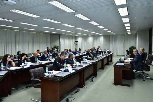"""جانب من دورة """"شفافية البنوك المركزية وسياسة تبليغ السياسة النقدية"""" في أبوظبي"""