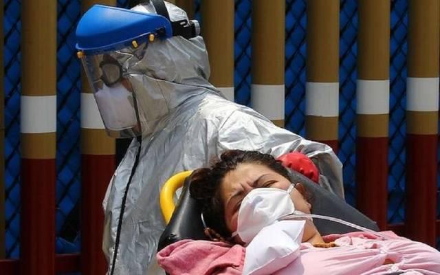 نقل مصابة بفيروس كورونا لإحدى المستشفيات ـ أرشيفية