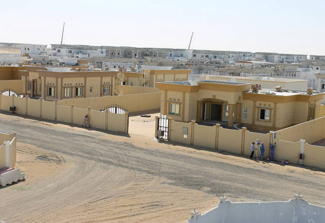 The project includes 300 residential villas