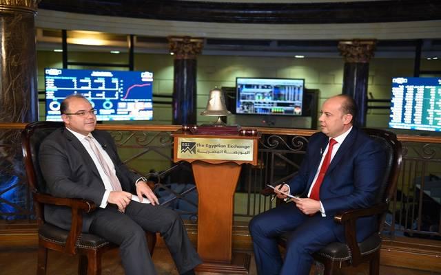 رئيس البورصة المصرية محمد فريد خلال الحوار
