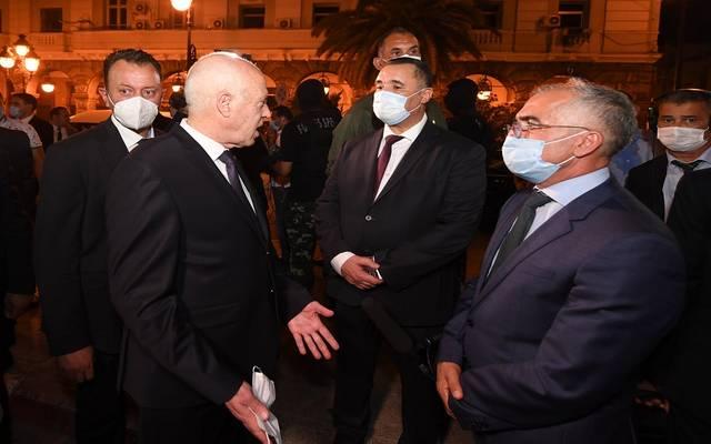 قيس سعيد رئيس الجمهورية التونسية