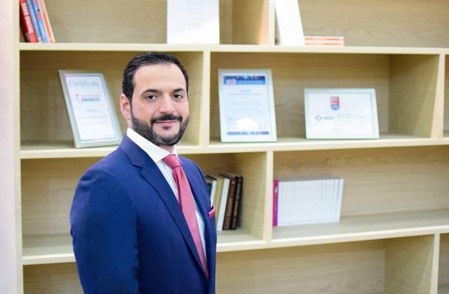 أشرف ملاك في منصب المدير الإداري للشركة في منطقة دول مجلس التعاون الخليجي،