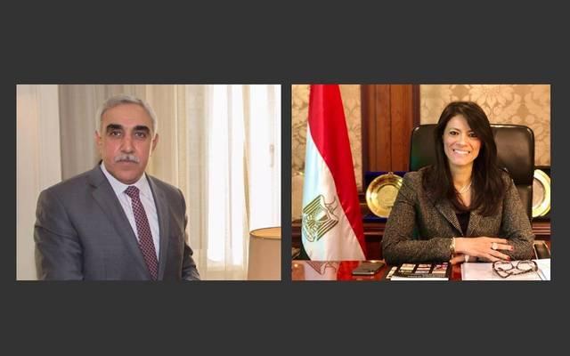عقدت وزيرة التعاون الدولي اجتماعاً مع السفير العراقي بالقاهرة- عبر الفيديوكونفراس.