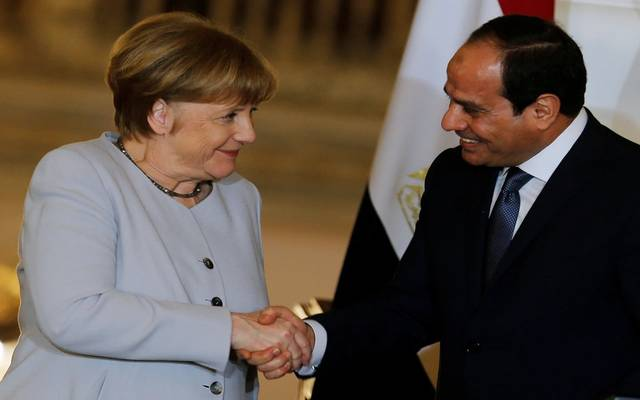 الرئيس المصري عبد الفتاح السيسي والمستشارة الألمانية أنجيلا ميركل - أرشيفية