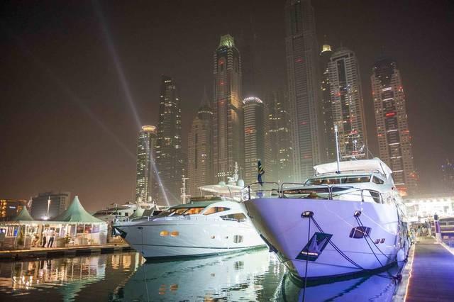 انطلاق معرض دبي العالمي للقوارب