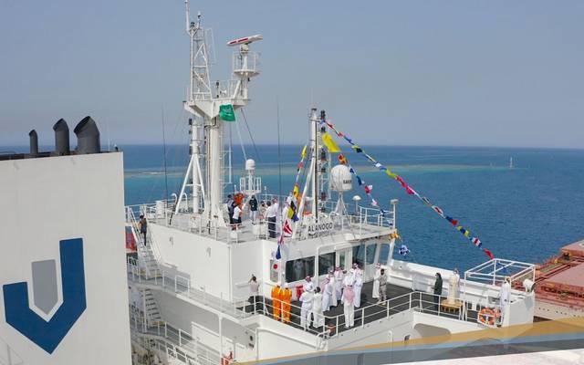 الهيئة العامة للنقل تضيف ناقلة جديدة إلى الأسطول البحري السعودي