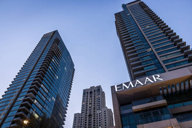 Emaar saw AED 10.902bn in overall property sales