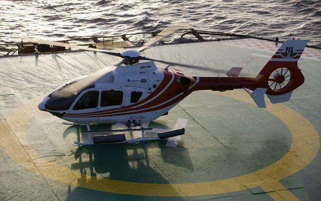 هبوط اضطراري لطائرة خدمات بترول في مصر