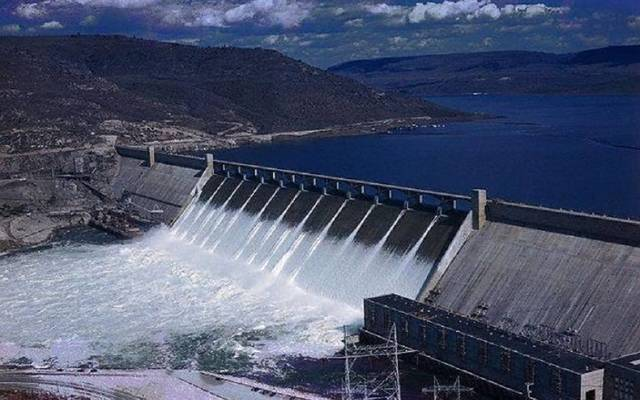 The dam is set for completion in four years