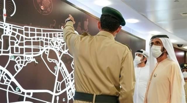 محمد بن راشد: دبي مراقبة بأكثر من 300 ألف كاميرا وهي من آمن مدن العالم