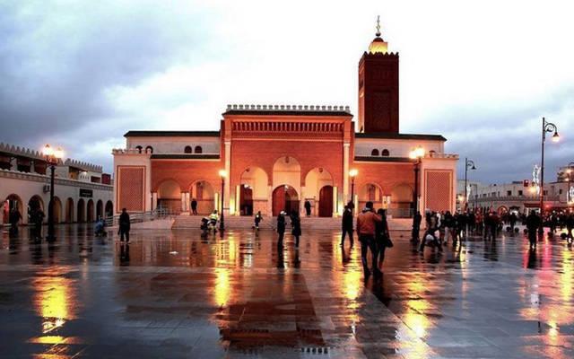 مسجد بمدينة وجدة المغربية