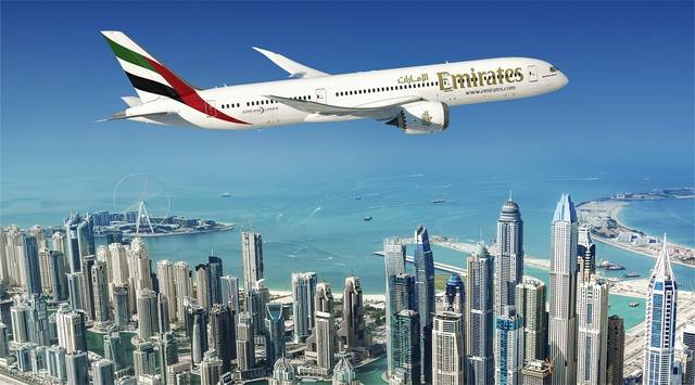 The total value of Emirates' aircraft commitments reached $24.8bn