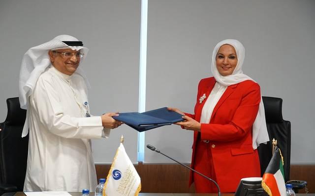 خلال توقيع الاتفاقية بين هيئة أسواق المال الكويتية وكامكو للاستثمار