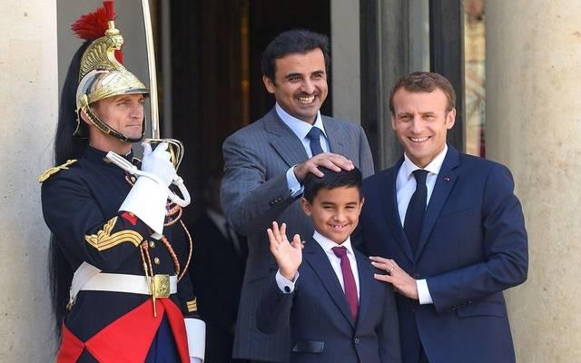 الرئيس الفرنسي يدعم وساطة الكويت لحل الأزمة الخليجية