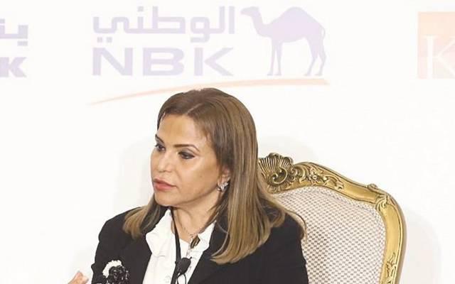 نائب الرئيس التنفيذي لمجموعة بنك الكويت الوطني ، شيخة البحر