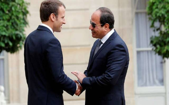 السيسي وماكرون يؤكدان رفضهما لممارسات التصعيد التي تمس مصالح دول شرق المتوسط