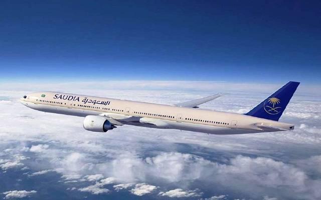 إحدى طائرات الخطوط الجوية السعودية