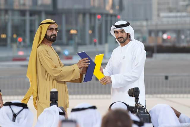 DXB partnered with XDubai to deliver a one-of-a-kind stunt